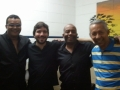 Show em Barueri (SP) com Fabinho Zabumbão, Curisco e o mestre da sanfona.