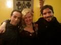 Casa de show El Camino (restaurante Chileno) em Paris antes do concerto 11abril2014 com Marcia de Carvalho.