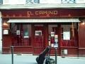 Casa de show El Camino Paris antes do concerto 11abril2014 com Marcia de Carvalho