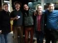 Diana Horta, Emiliano Castro, Leonardo Costa, Mathias Allamane e Gabriel Improta show Maison du Bresil março 2014.
