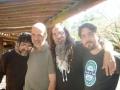 Na Gargolândia com Miguel Briamonte, Eduardo Contrera e Jorge Peña.