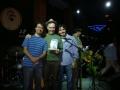 """Prêmio Caiubi categoria """"melhor show 2011"""" (Alexandre Cueva, Álvaro Cueva e Leonardo Costa) / Foto France da Mata"""
