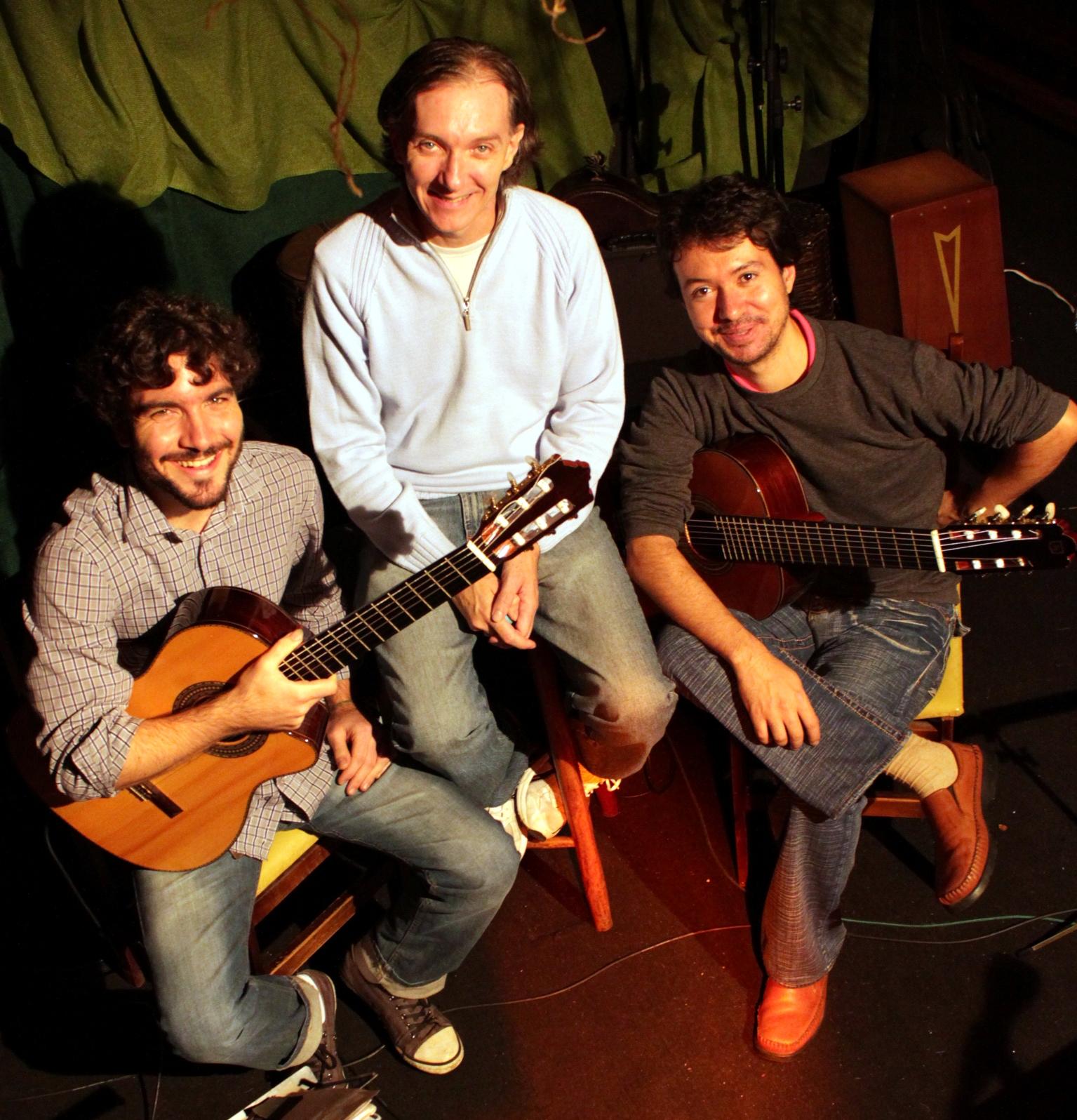 Trio Todos Acordes -Foto: Bignel Correa