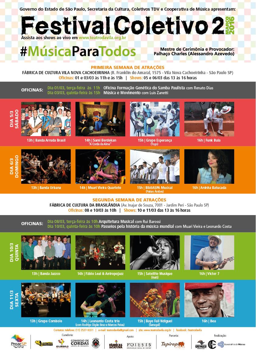 Festival Coletivo 2 #músicaparatodos